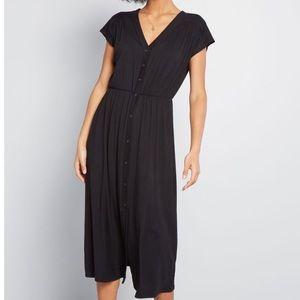 Simple Addition Midi Dress